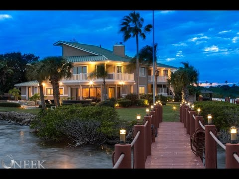 $3 Million dollar Cocoa beach peninsula home for sale