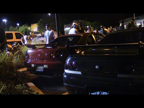 R34 Skyline in the United States! (Tuner/Import Meet!)