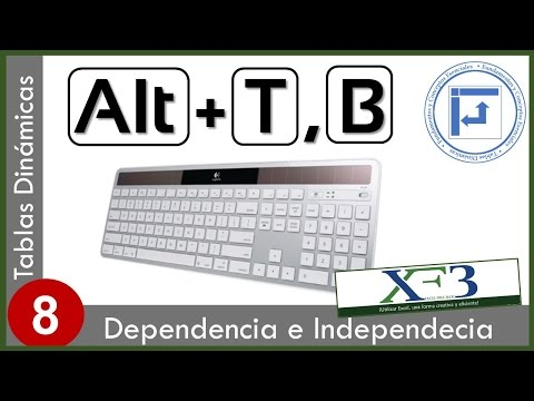 ... 08. Tablas dinámicas independientes y dependientes. Excel 2013