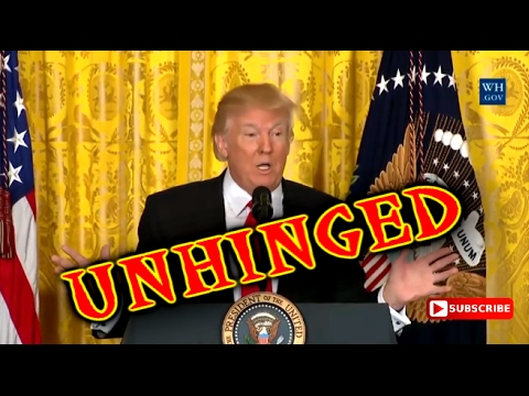 Trumps UNHINGED press conference