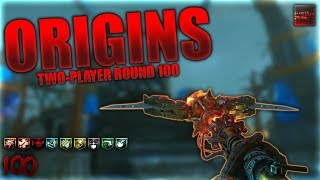 93+ ORIGINS ROUND 100 2 PLAYER SPEEDRUN! Call of Duty Black Ops 3 Zombies