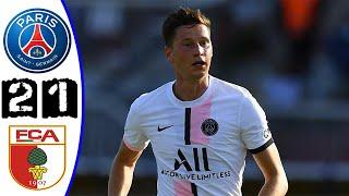 Paris Saint-Germain PSG VS FC Augsburg 2-1 Highlig