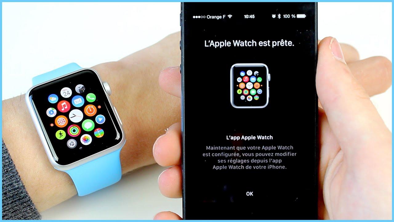 foto de Configurer son Apple Watch avec son iPhone et installer des ...