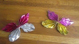 Origami vlindertje