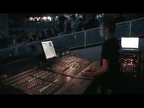 George Chapman: FOH Engineer for Marilyn Manson