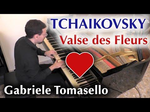 Tchaikovsky - Valse des Fleurs pour piano  - vals de las flores(S. Taneyev)  - Gabriele Tomasello