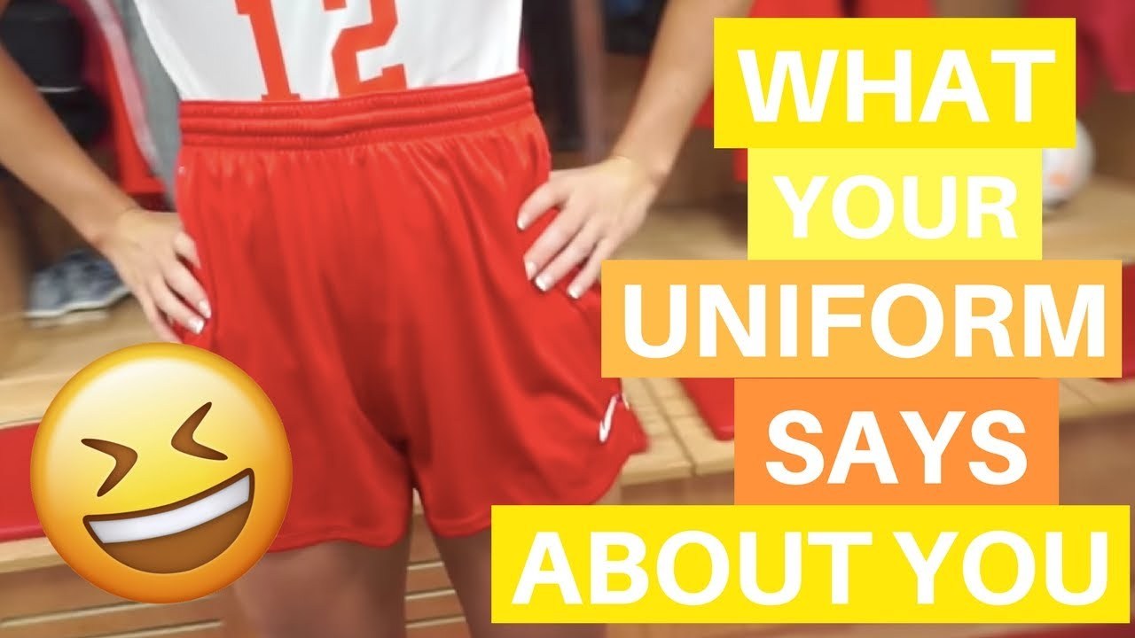 What Your Uniform Says About You...
