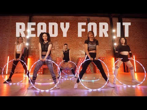 Taylor Swift - ...Ready For It? | Hooptown Hotties Choreography | Hula Hoop Dance