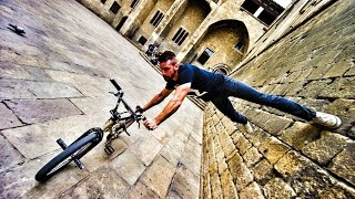 Bike Parkour 2.0 - Streets of Barcelona!(Watch some incredible BIKE PARKOUR tricks through Barcelona Spain with the one and only Tim Knoll! Super thanks to Contiki for making this trip happen!, 2016-10-19T19:51:25.000Z)