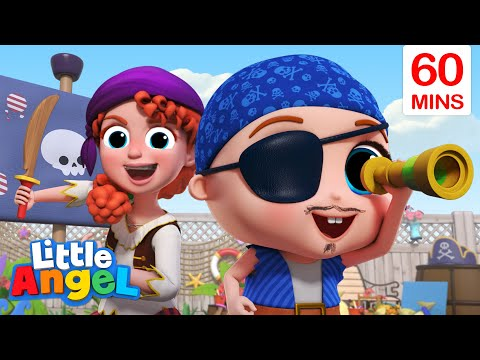 Babysitter Is The Best Song + More Little Angel Kids Songs & Nursery Rhymes
