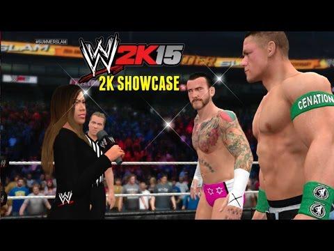 WWE 2K15 (Xbox 360): 2K Showcase Walkthrough - Hustle, Loyalty, Disrespect (Punk vs Cena) - EP12