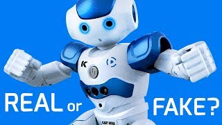 The Best Fake NAO Robot?? - With reaction cams