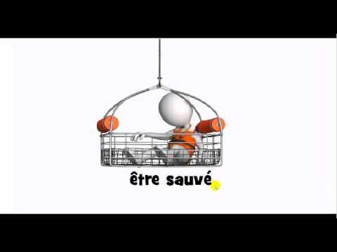 French pronunciation = être sauvé - YouTube