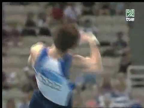 Paul Hamm (USA) - Vault AA @ Athens Olympic Games 2004