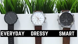 3 Watch Styles Every Man Needs