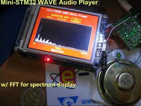 Mini-STM32 WAVE Audio Player