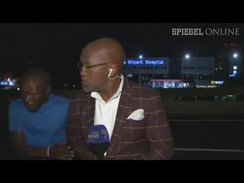 Südafrika: Diebe überfallen Reporter vor laufender Kamera