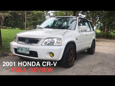 2001 Honda CR-V Full Tour Review