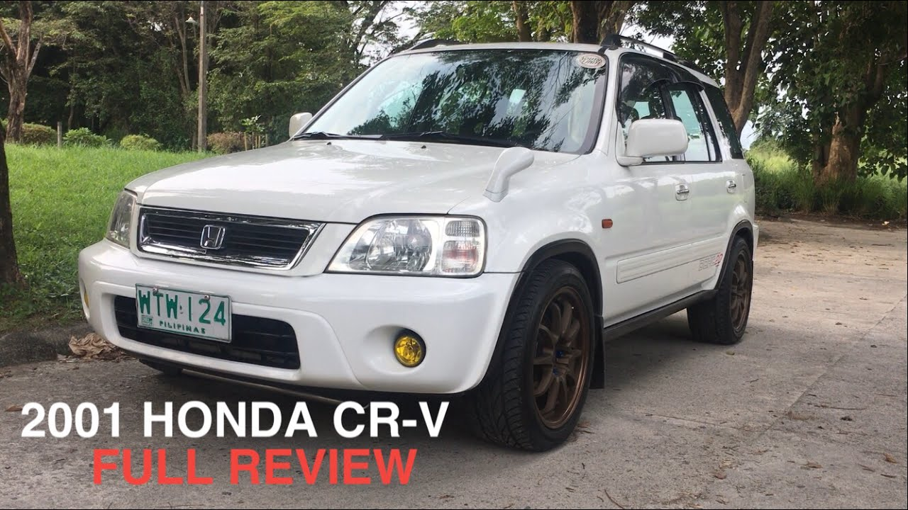 2001 Honda Cr V Full Tour Review