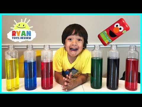 Thumbnail: BEST LEARNING COLORS for Kids Children Toddlers Video! Sesame Street Fizzy Tub Colors Surprise Toys