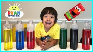 best learning colors for kids children toddlers video sesame street fizzy tub colors surprise toys