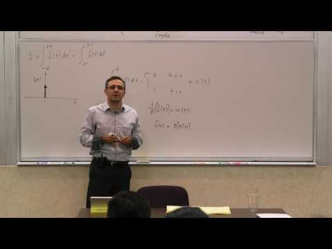 012. Linear Systems: Dirac Delta, Sifting Property, Impulse Response, LTI,  Convolution