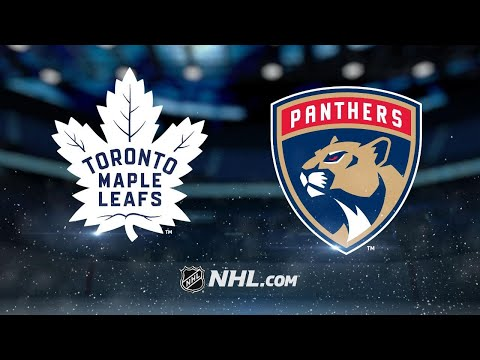 Bjugstad, Luongo lift Panthers to SO win past Leafs