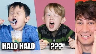 Reacting To American Kids Trying Filipino Snacks And Food