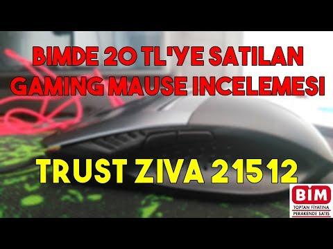 Trust Ziva 21512 İncelemesi (Bimde 20TL'ye Satılan Mause)