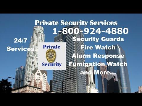 Security Services Santa Monica 1-800-924-4880 Patrol Alarm response