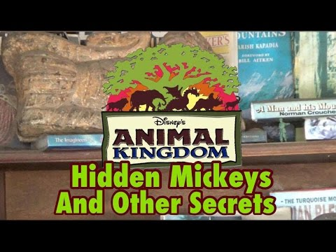 Hidden Mickeys and Other Secrets of Disney's Animal Kingdom
