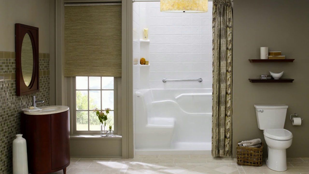Bathroom Remodeling Ideas Small Bathrooms Budget - YouTube