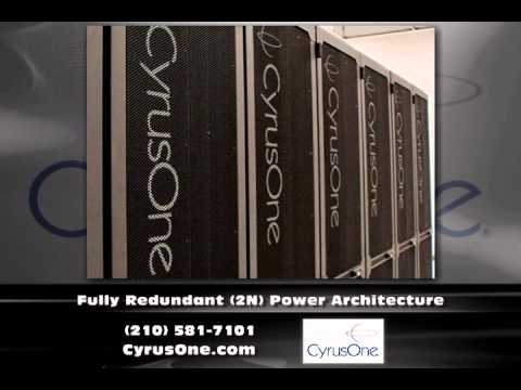 San Antonio Texas Data Center  CyrusOne