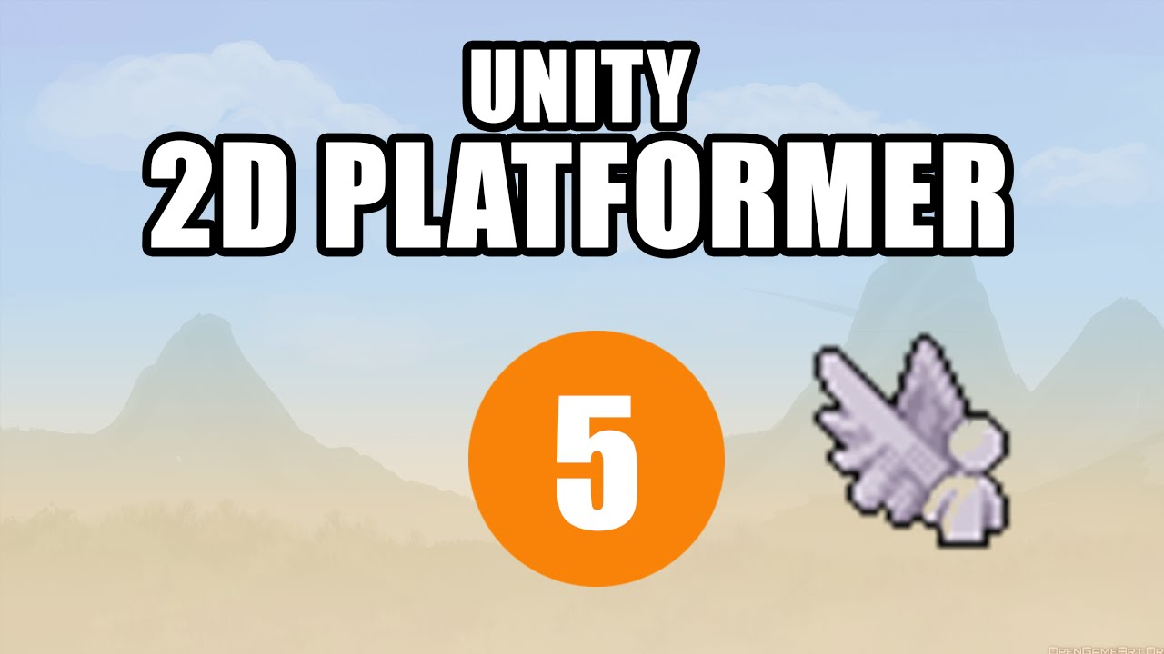 Unity 2D Platformer Tutorial • 5 • Jump and Double Jump! [Noob Friendly][C#]