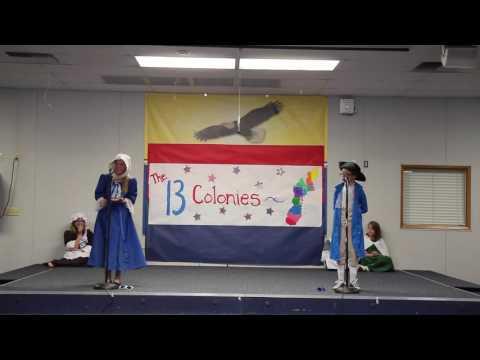 Sierra Vista 13 Colonies 5th Grade Play