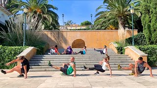 Group Tabata Workout (with Italo Naibo & Friends)
