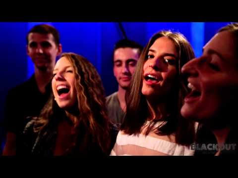 """BLACKOUT (NYC A Cappella) Presents """"You and Your Friends"""" by Wiz Khalifa"""
