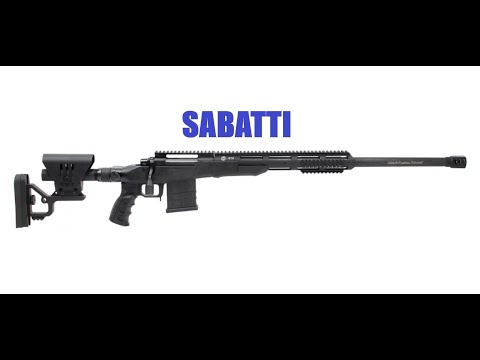 Sabatti ARMS & HUNTING – 2019 (TACTICAL HUNTER, SAPHIRE, STR)
