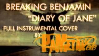 Breaking Benjamin - Diary Of Jane Full Instrumental Cover / Vocal Backing Track