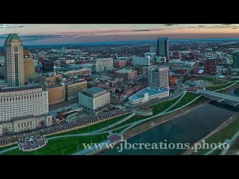 Columbus Night Flight - Beautiful Drone Video of Downtown Skyline