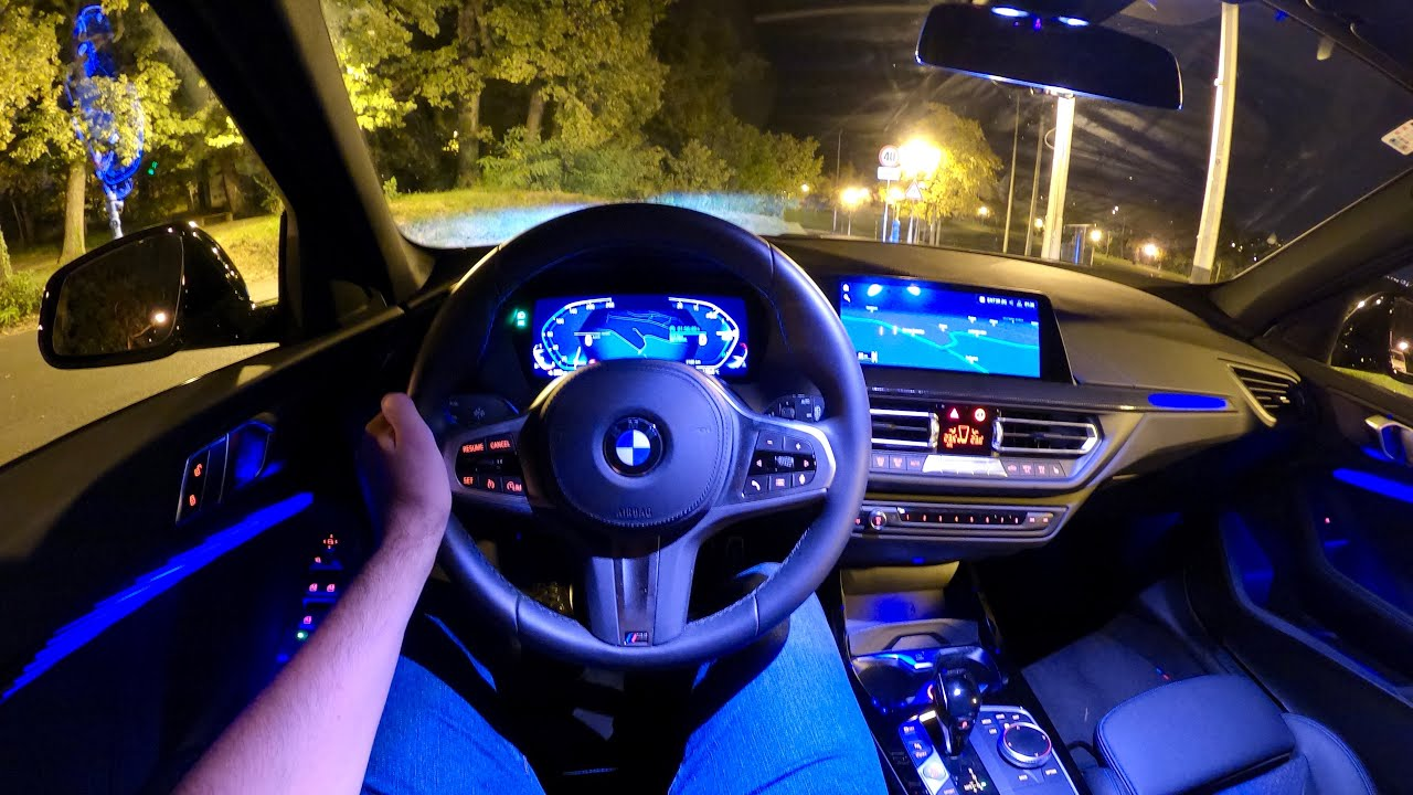 New BMW 1 Series 2021 - NIGHT POV test drive & FULL REVIEW ...