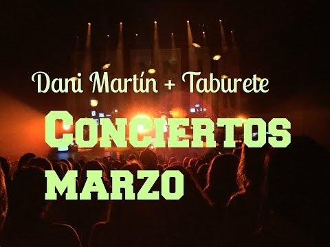 CONCIERTO DANI MARTÍN+TABURETE, Marzo   Pvera