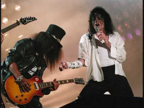Michael Jackson ft. Slash - Give In To Me!