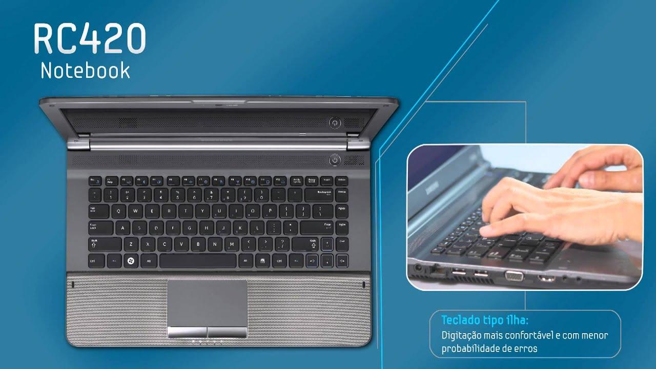 Notebook samsung lançamento 2013 - Samsung Notebook Rc420 V Deo Lan Amento Take 5 Filmes