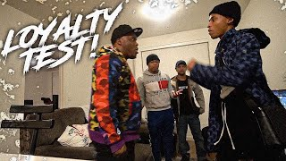 I Tried To FIGHT T.O In Front Of His Brothers To See What They'll Do . . | Loyalty Test