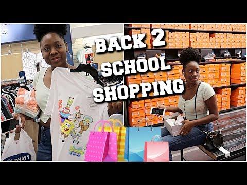 Dejah Goes Back 2 School Shopping
