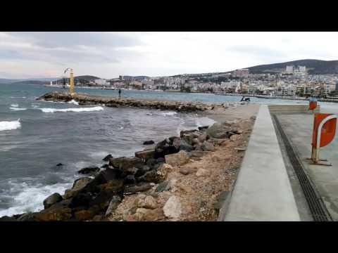 Windy day on the Aegean Sea