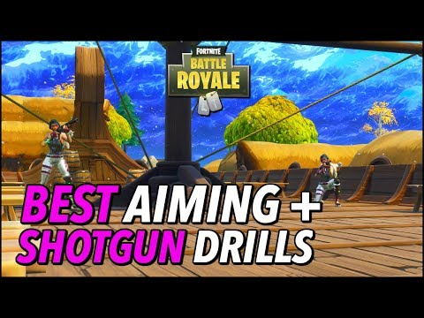 aiming shotgun drills and tips to practice in playground fortnitecompetitive - fortnite accuracy test