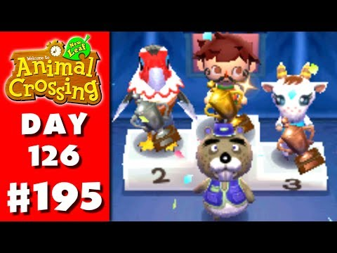 Animal Crossing: New Leaf - Part 195 - Fishing Tourney (Nintendo 3DS Gameplay Walkthrough Day 126)