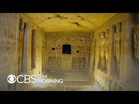 Archaeologists discover tomb of Egyptian royal priest